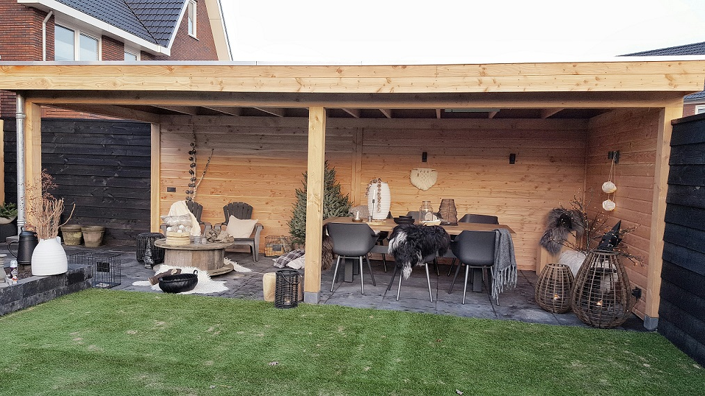 Een tuin met veranda ontwerpen valt niet mee huizedop for Tuinontwerp intratuin
