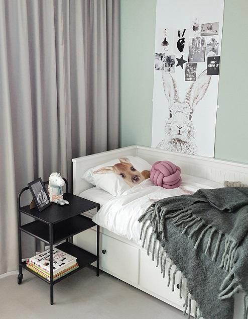 Meisjeskamer inspiratie bed slaapkamer