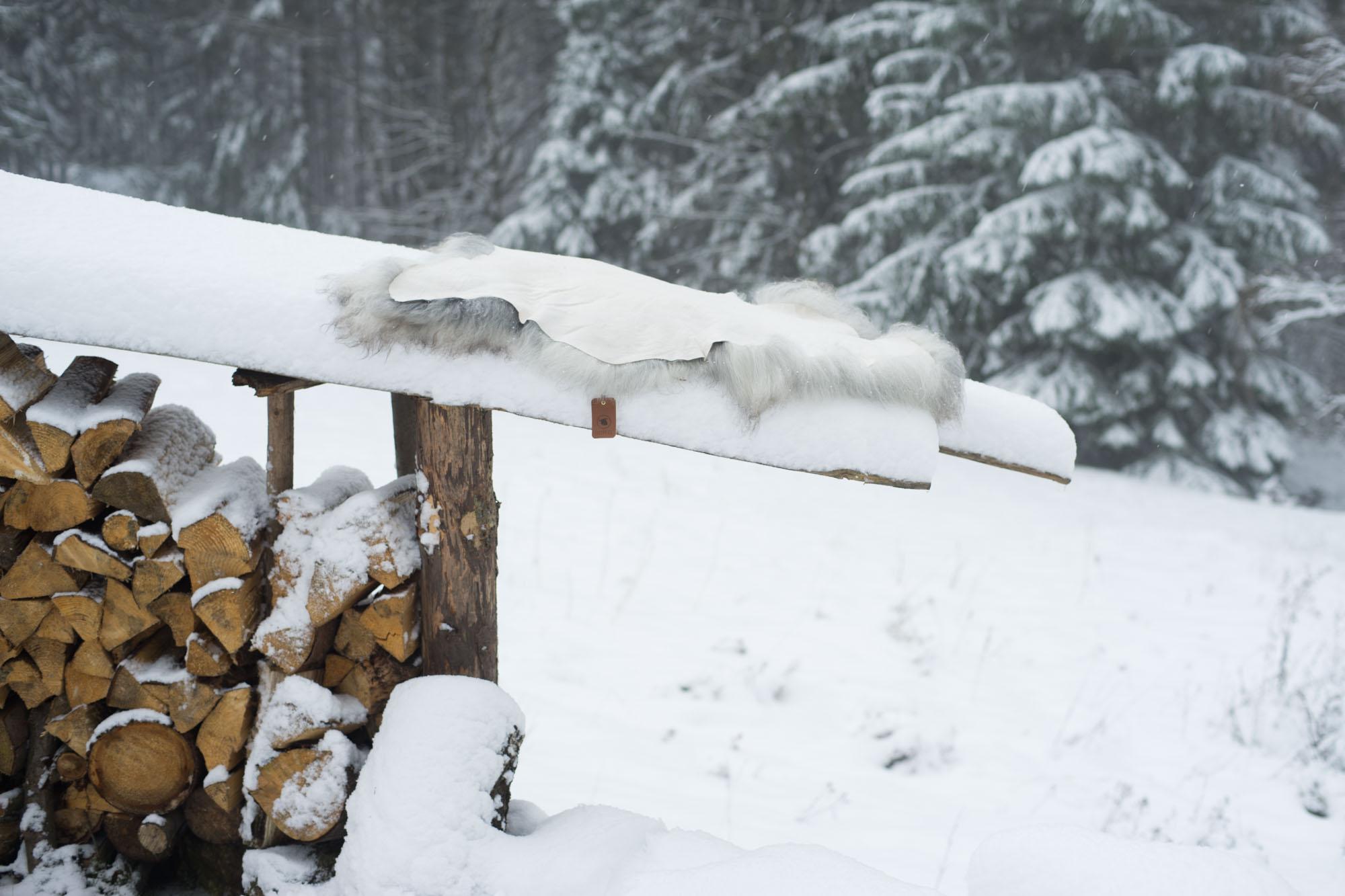 Schapenvacht onderhoud sneew