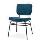 Ook deze stoel is in meerdere kleuren leverbaar.