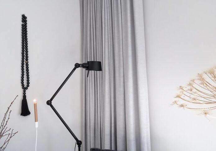 Tonone bolt vloerlamp in huizedop