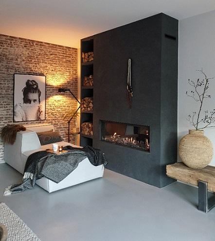gashaard houtopslag brickwall
