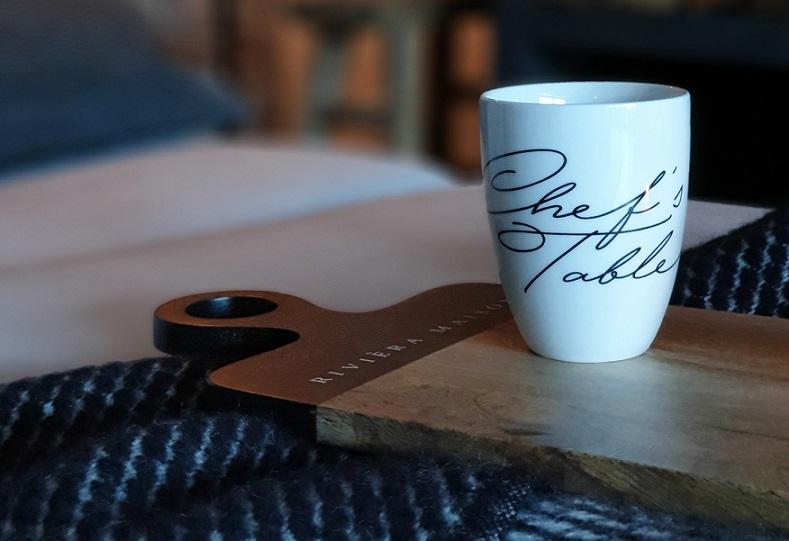 relaxen met koffie