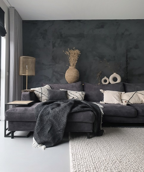 grijze muur