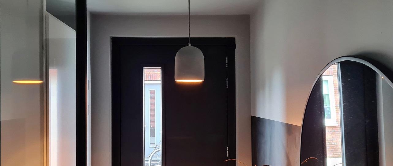 plafond en muren dezelfde kleur