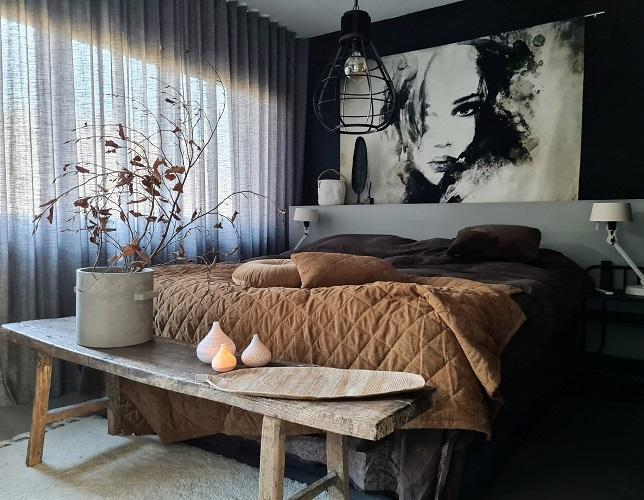 slaapkamer stylen en inrichten