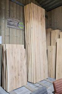 houten tafelbladen
