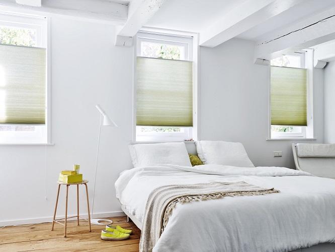 duette shades slaapkamer
