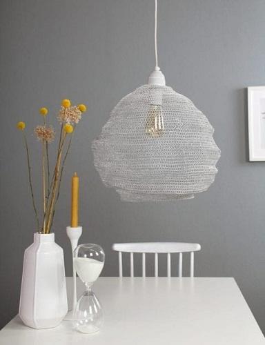 hanglamp gaas wit