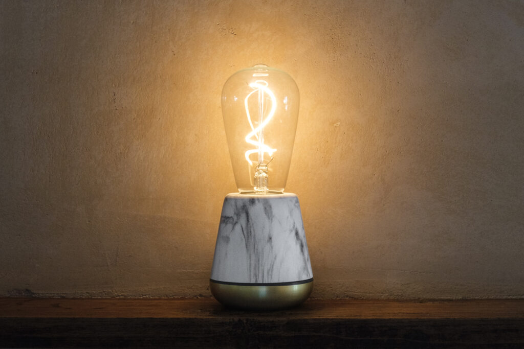 Marmer witte lamp - Humble