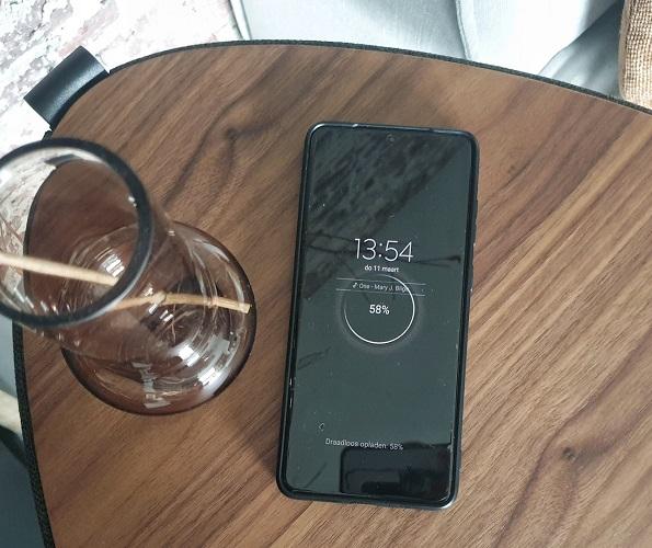 draadloos opladen telefoon