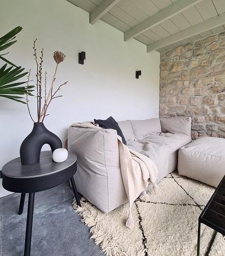 bryck loungebank light grey tuinkamer