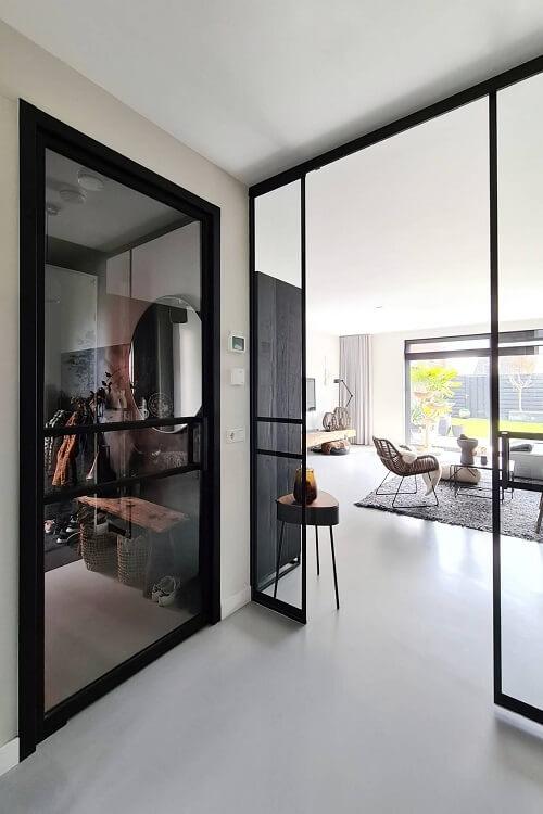 glazen schuifdeur woonkamer keuken
