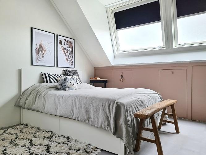 tiener slaapkamer tienerkamer bed 140x200