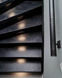 trapleuning zoldertrap upstairs trap bekleden