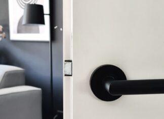 deurbeslag mat zwart