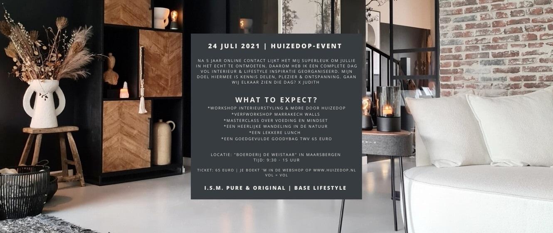 huizedop event
