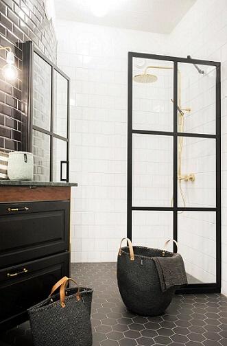 badkamer stalen deur